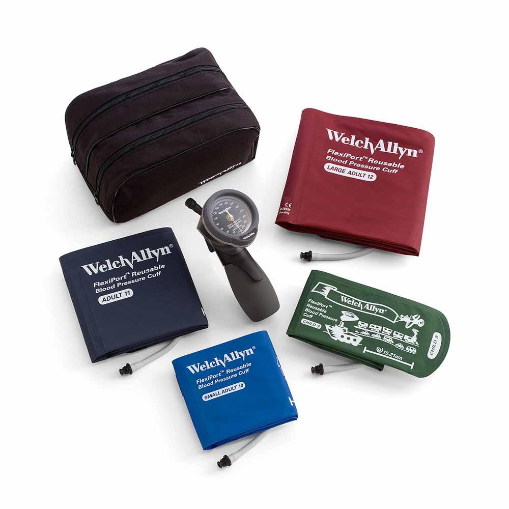 Однокомпонентные манжеты FlexiPort для измерения артериального давления от Welch Allyn (США)