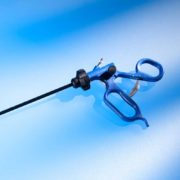 Лапароскопический инструмент с кремальерой EasyClinch от AMI (Австрия)