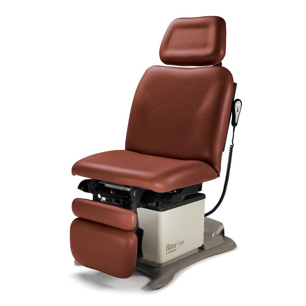 Процедурное кресло 230 для диагностических и процедурных кабинетов от Midmark (США)