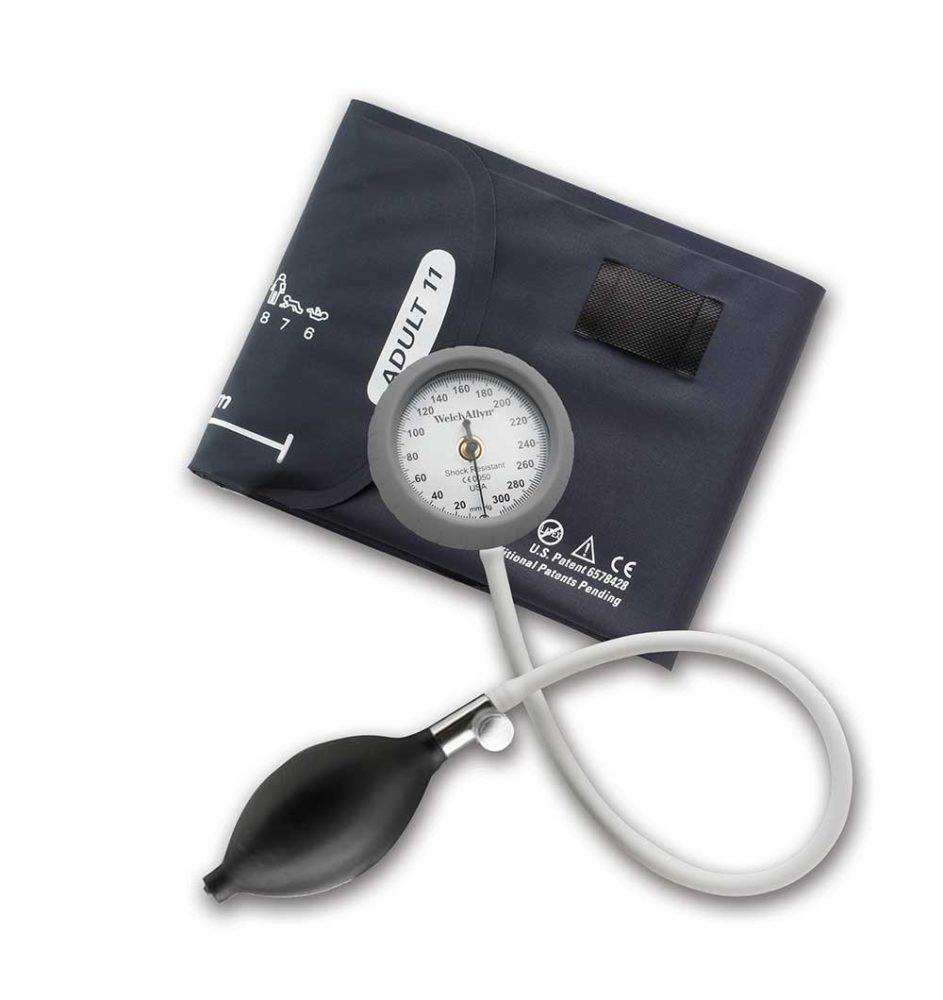 Тонометр с долговечной однокомпонентной манжетой для взрослых