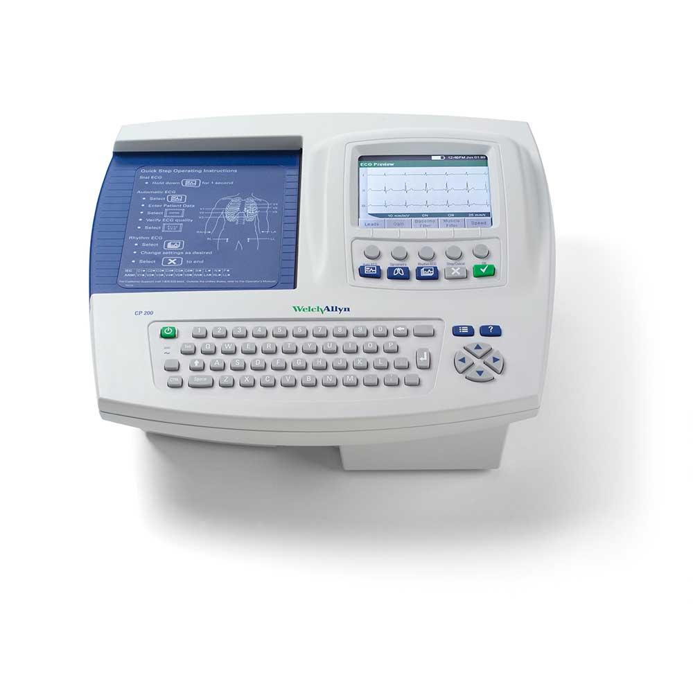 Электрокардиограф CP 200 с дополнительной функцией проведения спирометрии